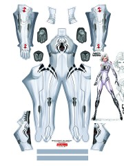 Disfraz de White Widow de Absolute Comics Universe Cosplay