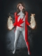 Alpha Flight Guardian Vindicator Suit Female Version Cosplay Costume