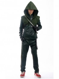 Green Arrow Season 3 Arrow Oliver Queen Cosplay Costume