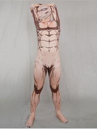 Attack on Titan Eren Yeager Titan Superhero Fullbody Suit