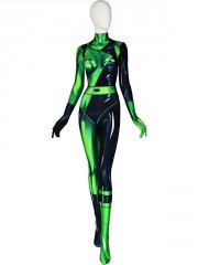 Shego Of Disney Kim Possible Printing Costume