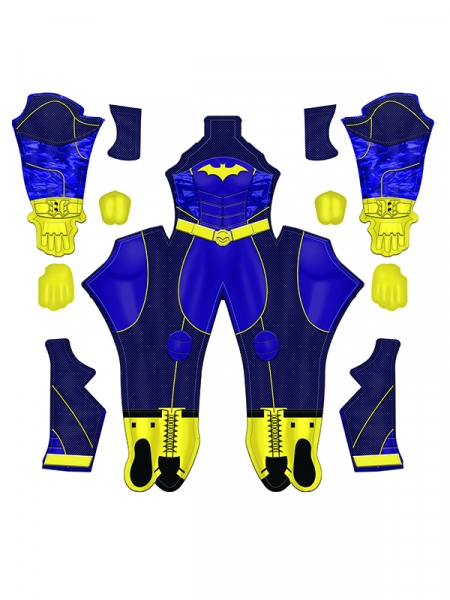 Batgirl Costume Game Superhero Costume No Mask