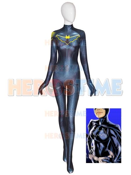 Batgirl Base Suit DC Comics Halloween Cosplay Costume