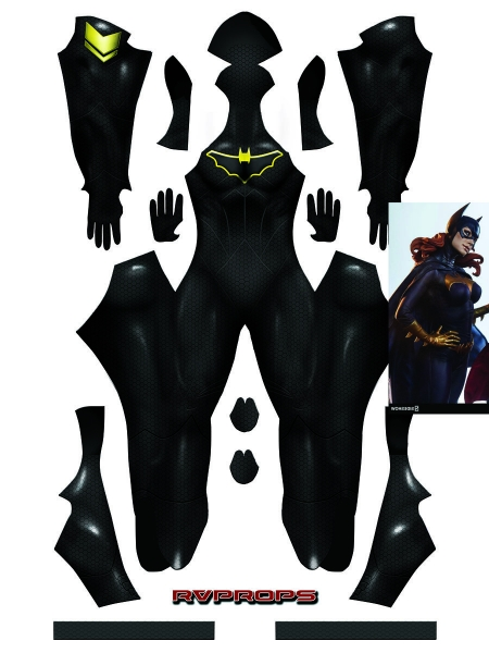 Batgirl Base Suit DC Comics Halloween Cosplay Costume