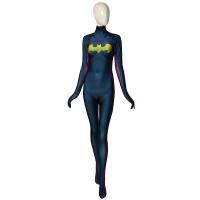 DC Comics Batgirl DyeSub 3D Printing Superhero Costume NO Mask