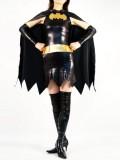 DC Comics Superheroine Batgirl Metallic Superhero Costume