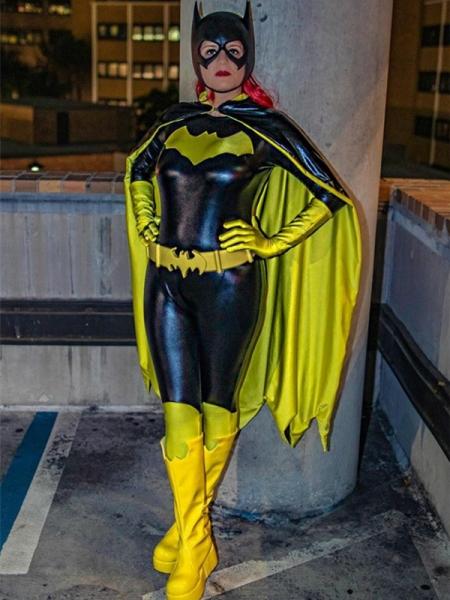 Popular 2015 New Batgirl Female Superhero Costume