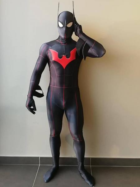 Batman Beyond  Traje de Batman DyeSub Impresión 3D