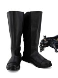 Batman Shoes DC Comics Version Batman Black Cosplay Boots