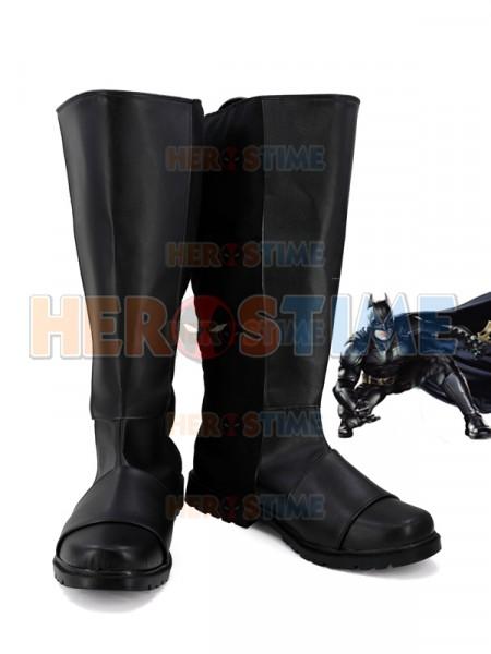 Batman Shoes DC Comics Version Batman Black Cosplay Boots
