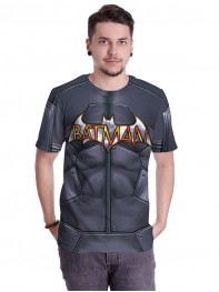 Couple DC Comics Batman 3D Printting Sports GYM Shirt
