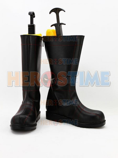 New Batman Red Line Superhero Boots