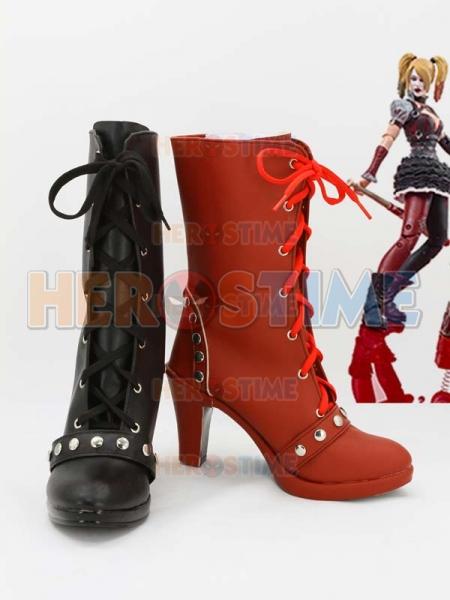 Batman Arkham Knight Harley Quinn Cosplay Boots