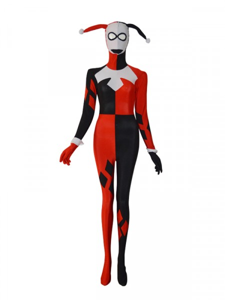Harley Quinn Female Superhero Costume