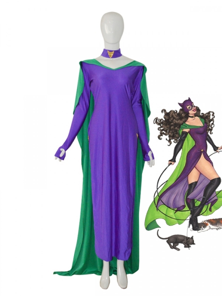 2014 New Style Catwomen Female Superhero Dress