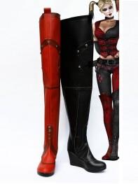 DC Comics Batman Harley Quinn Super Villain Boots