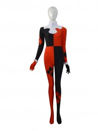 DC Comics Super Villain Harley Quinn Female Superhero Costume