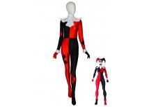 Traje de Spandex de Harley Quinn de DC Comics