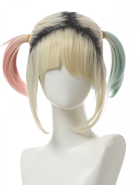 Harley Quinn Wig Birds of Prey Cosplay Wig