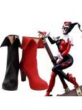 DC Comics Harley Quinn High Heel Cosplay Boots