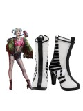 Harley Quinn Cosplay Costume Birds of Prey Cosplay Boots