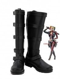 Injustice League 2 Harley Quinn Cosplay Boots