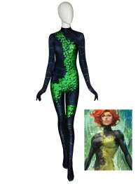 Poison Ivy Suit Birds of Prey Cosplay Costume