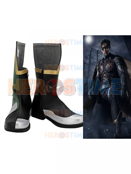 DC Comics Robin Boy Wonder Cosplay Boots