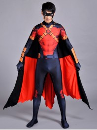 New 52 Red Robin Costume Red Robin Cosplay Costume