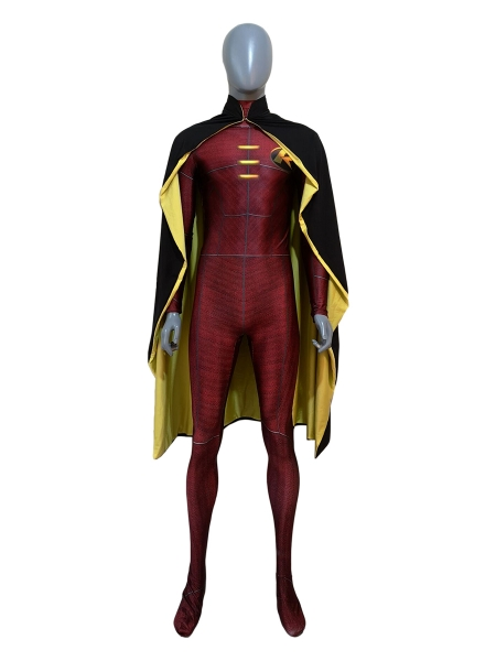 Newest Red Robin DC Comics Cosplay Costume