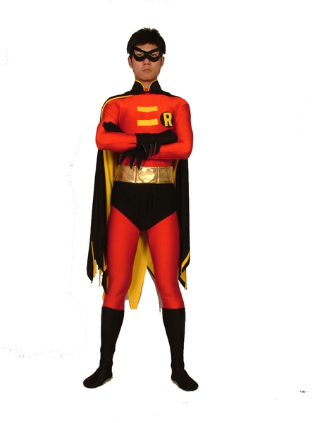 Batman Series  Traje de Spandex de Red Robin