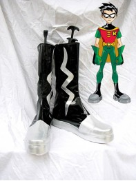 Batman Series Robin Teen Titans Cosplay Boots