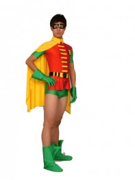 Jason Todd Version Robin Spandex Superhero Costume