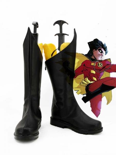 Botas Negras de Red Robin (Tim Drake)