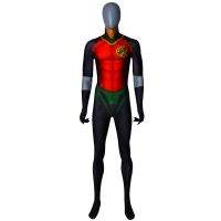 Robin Costume Rebirth Red Robin Cosplay Suit No Cape