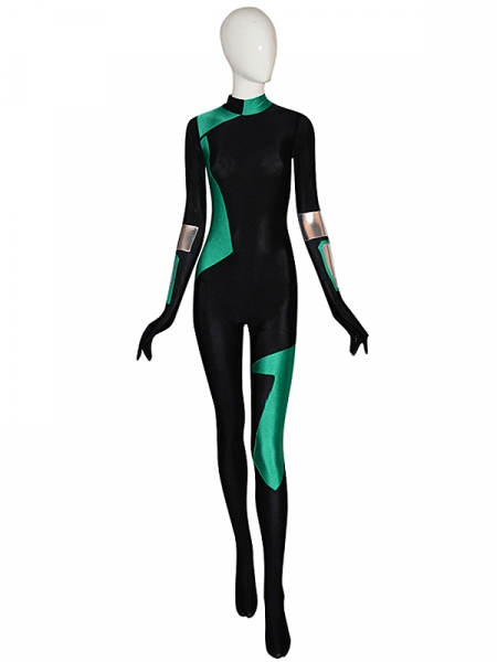 2019 Newest Shego Suit Kim Possible Spandex Cosplay Costume