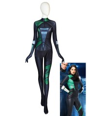 Shego Suit Kim Possible Costume Movie Shego Cosplay Halloween Costume