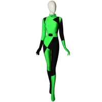 Último Traje de Shego de Kim Possible  Disfraz de Super villano Cosplay