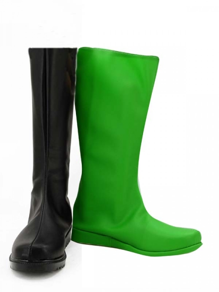 Shego Of Kim Possible Female Super Villain Cosplay Boots