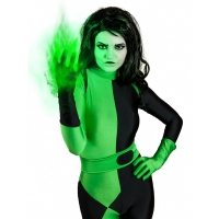 Disfraz de Shego de Kim Possible Súper Villano Cosplay
