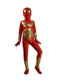 Child Iron Spider Armor Superhero Costume
