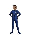 Disfraz de Spandex de Cuatro Fantásticos para Niños Uniforme del Equipo