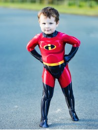 The Incredibles 2 Dash Printing Superhero Costume
