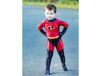 The Incredibles 2 Dash Printing Superhero Costume