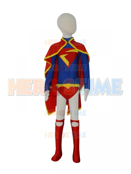 Child Leotard Design Supergirl DC Comics Superhero Costume