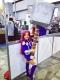 Kids Starfire Teen Titans Cosplay Superhero Costume