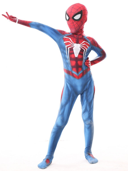 Insomniac PS4 Kids Spiderman Costume Kid Halloween Costume