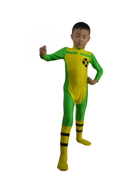 Kids X-men Rogue Superhero Costume
