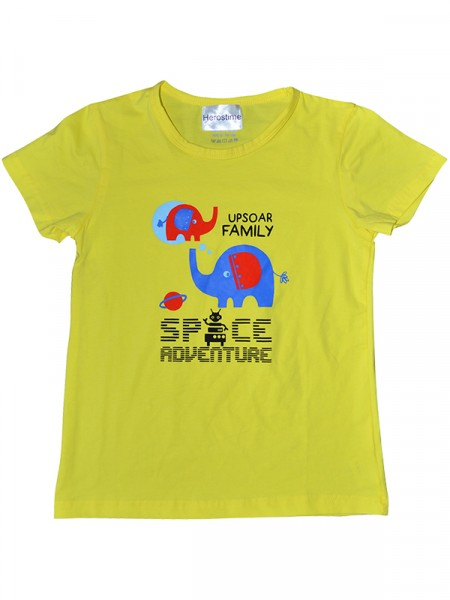 Herostime Cute Kids T-SHIRT with Elephant design