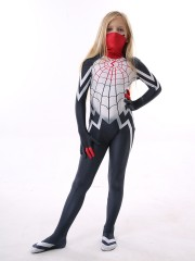 Kids Silk Costume Cindy Moon Spiderman Costume Kid Halloween Costume